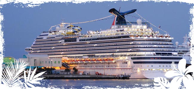Carnival cruise ship in Port Canaveral