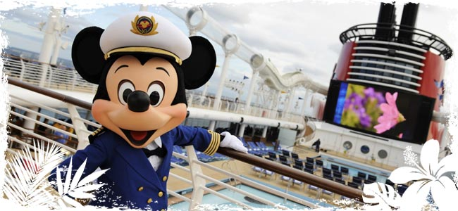 Mickey Mouse says all aboard!